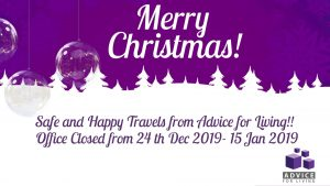 Merry Christmas Closed from 24 Dec - 15 Jan